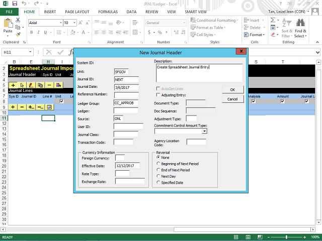 Create a Budget Journal Spreadsheet - Step 7